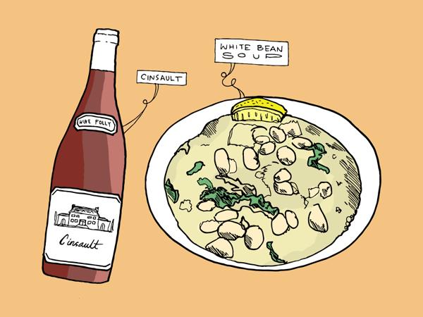 bữa tối với rượu vang